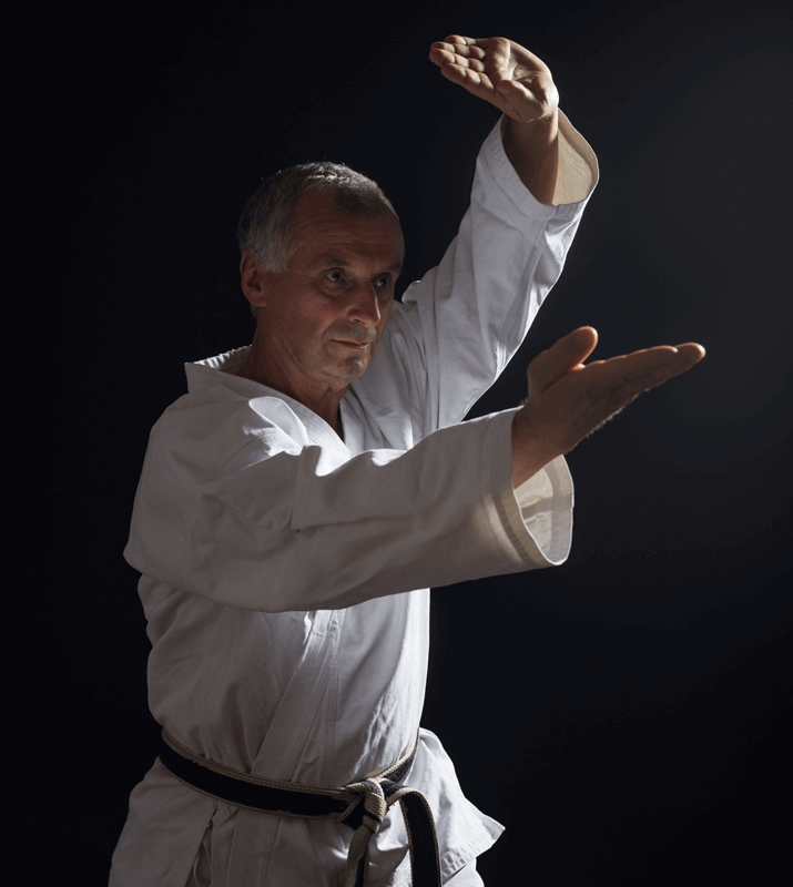 Martial Arts Lessons for Adults in Cypress TX - Older Man