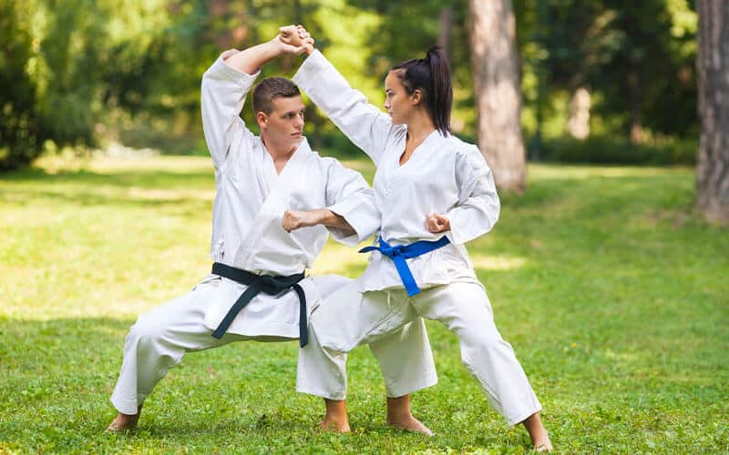 Martial Arts Lessons for Adults in Cypress TX - Outside Martial Arts Training