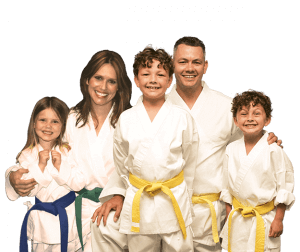 Martial Arts Lessons for Families in Cypress TX - Group Family for Martial Arts Footer Banner