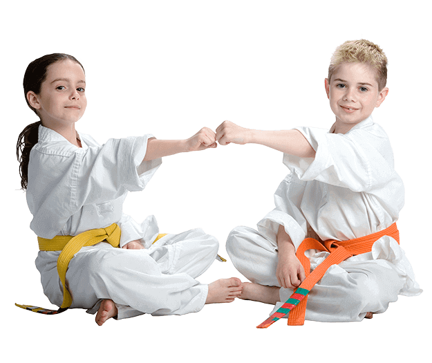 Martial Arts Lessons for Kids in Cypress TX - Kids Greeting Happy Footer Banner