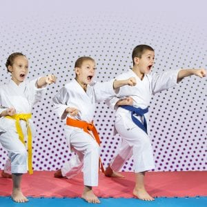 Martial Arts Lessons for Kids in Cypress TX - Punching Focus Kids Sync