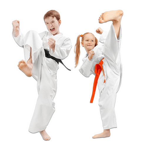 Martial Arts Lessons for Kids in Cypress TX - Kicks High Kicking Together