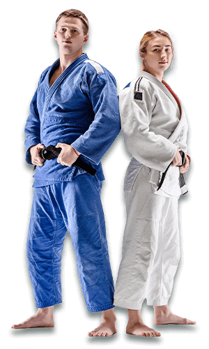 Brazilian Jiu Jitsu Lessons for Adults in Cypress TX - BJJ Man and Woman Banner Page