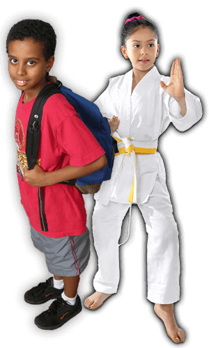 After School Martial Arts Lessons for Kids in Cypress TX - Backpack Kids Banner Page