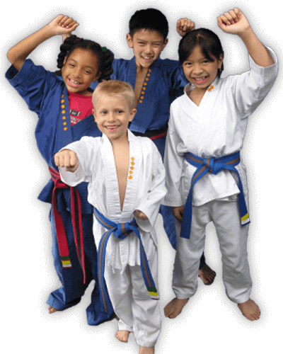 Martial Arts Summer Camp for Kids in Cypress TX - Happy Group of Kids Banner Summer Camp Page